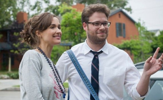 Neighbors starring Seth Rogen and Rose Byrne and Zac Efron 2014 570x350 Neighbors Trailer #2 & Image Gallery: Family vs. Frat