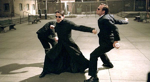 Neo vs. Agent Smiths Matrix Reloaded Possible Amazing Spider Man Spoiler: New Twist on The Lizard