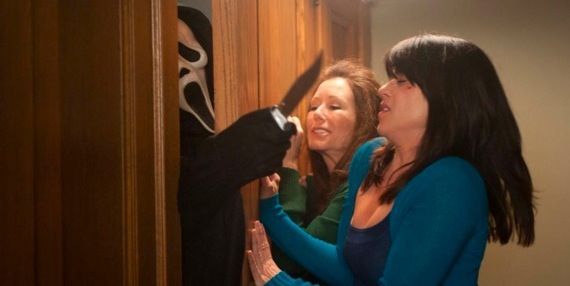 Never Campbell and Mary McDonnell in Scream 4 Movie Media Roundup: Pirates of the Caribbean 4, Scream 4 & Tangled
