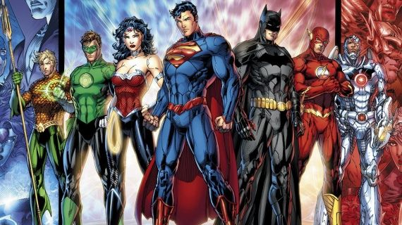 New 52 Justice League Roster DCs Geoff Johns Talks Aquaman; Drops Movie Hints
