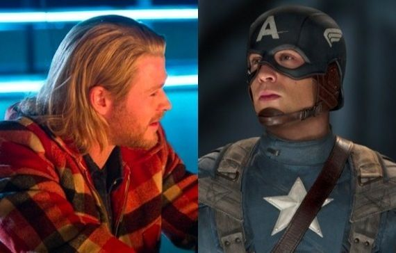 New Images from Thor and Captain America Official Thor and Captain America Movie Images