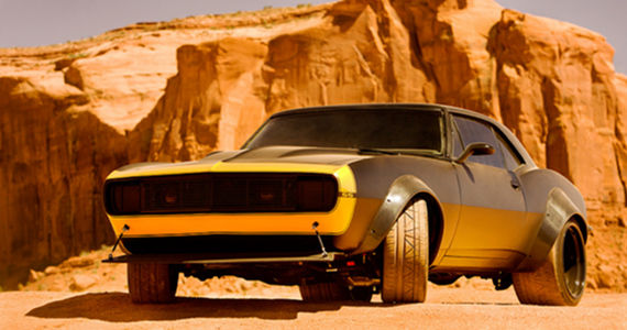 New Look of Bumblebee Transformers 4 Images: Michael Bay Reveals Redesigned Bumblebee & Hound