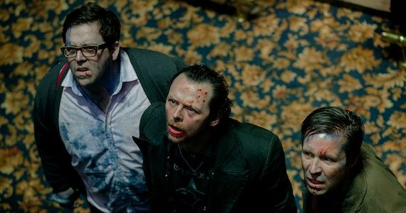 Nick Frost Simon Pegg Paddy Considine Worlds End Spoilers Is Edgar Wrights Collider Going to be a Horror Film?