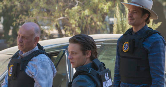 Nick Searcy Jacob Pitts and Timothy Olyphant in Justified Wheres Waldo Justified Season 4, Episode 2 Review – The Truth About Waldo
