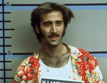 Nicolas Cage Raising Arizona Hair