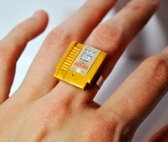 Nintendo Cartridge Rings Nintendo Cartridge Rings