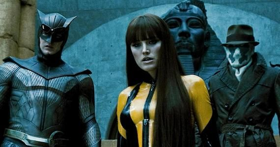 Nite Owl Silk Spectre Rorschach Watchmen Movie Joe Silver Reveals Original Watchmen Movie Story Twist