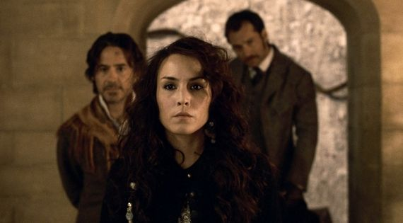 Noomi Rapace in Sherlock Holmes A Game of Shadows Sherlock Holmes: A Game of Shadows Review