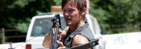 Norman Reedus in The Walking Dead Home The Walking Dead Season 3, Episode 10 Review – Zombie Delivery