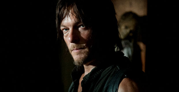 Norman Reedus in The Walking Dead Season 4 Episode 12 The Walking Dead Might As Well Make The Best Of It