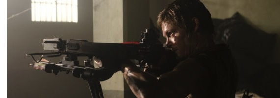 Norman Reedus in The Walking Dead Sick The Walking Dead Season 3, Episode 2: Sick Recap