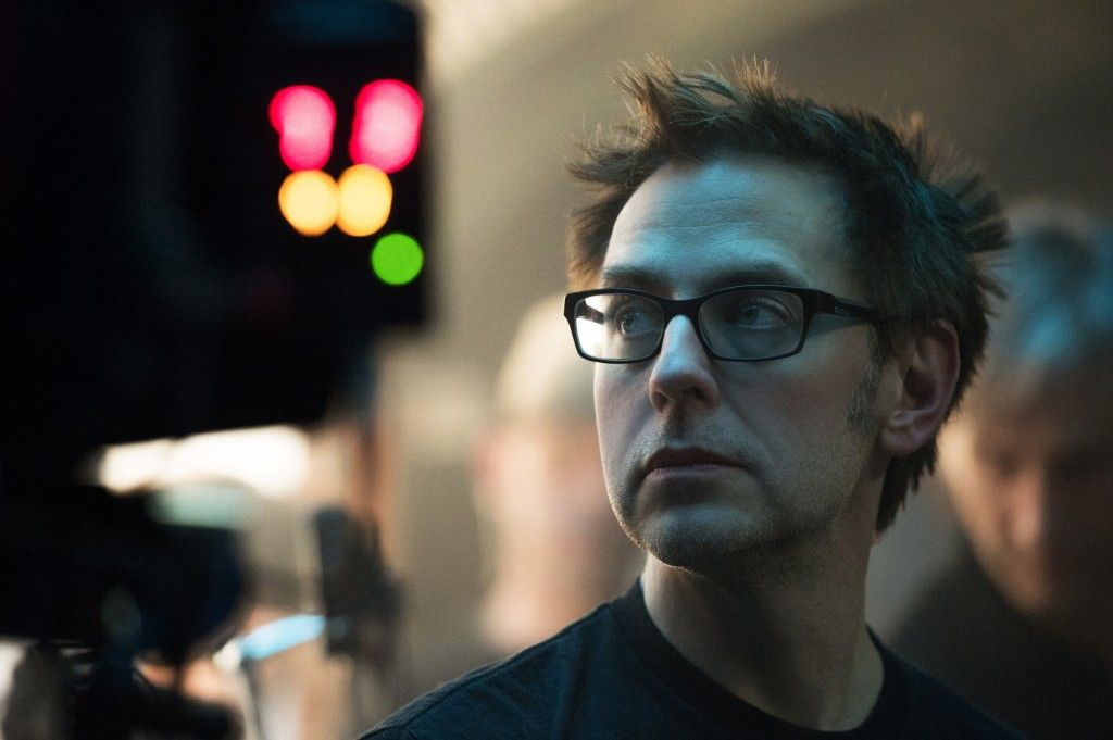 Official Guardians of the Galaxy Set Photo Director James Gunn 1024x681 Guardians of the Galaxy Features 4X More Marvel Characters Than Any Other Movie