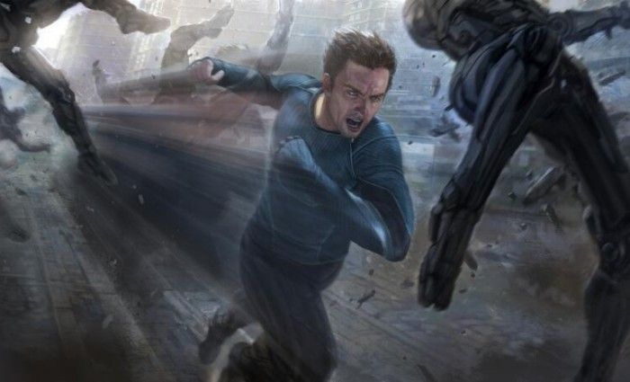 Official Quicksilver Concept Art The Avengers 2 Age of Ultron 700x425 First Look At Quicksilver, Scarlet Witch & Hulkbuster Designs in The Avengers 2