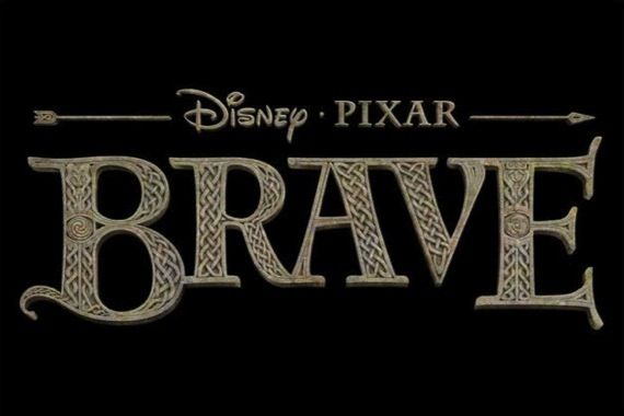 Official logo for Brave Pixars Brave Concept Art Reveals A New Princess Fairy Tale