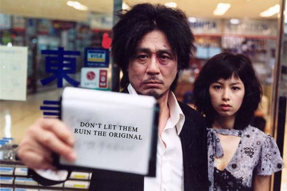Oldboy American remake Spielberg, Vaughn & Boyle on Shortlist To Direct Oldboy Remake