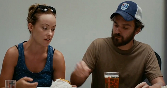 Olivia Wilde and Jake Johnson in Drinking Buddies Drinking Buddies Review