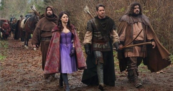 Once Upon A Time Season 3 Episode 13 Belle Robin Little John Once Upon A Time: Blood Ties