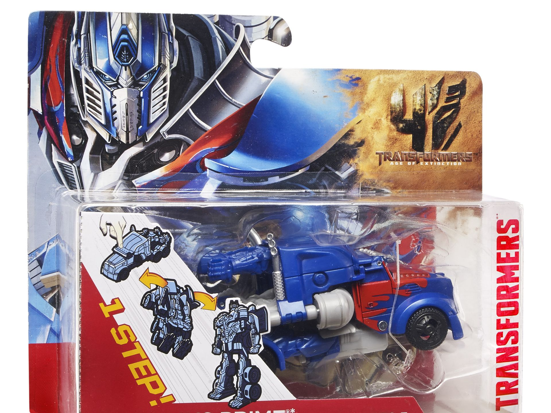 Optimus Prime Packaging for Transformers 4 Optimus Prime Packaging for Transformers 4