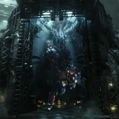 Optimus Prime Transformers 4 Movie Spaceship