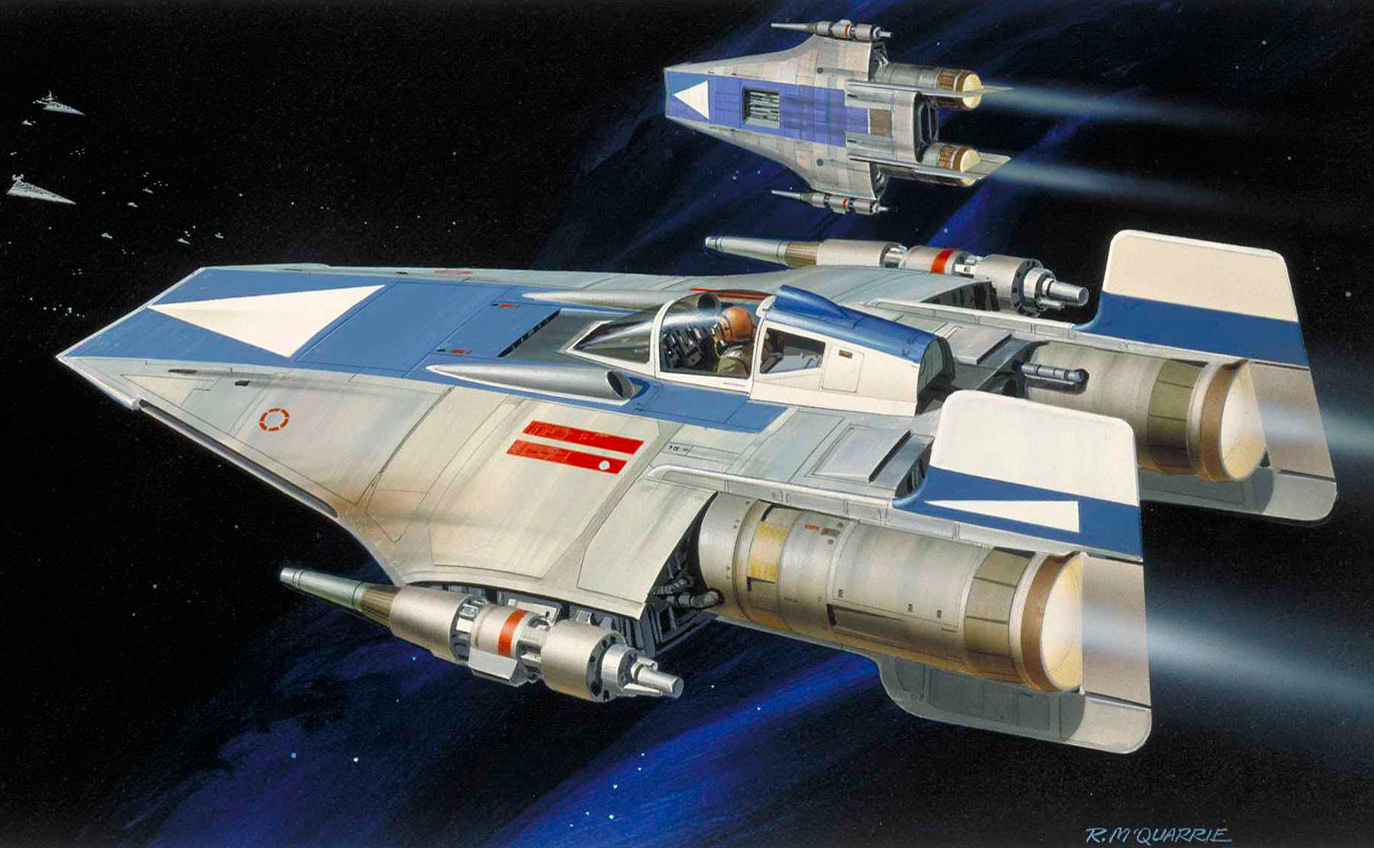 star wars 8 brings back the rebellion s fastest starfighter. Black Bedroom Furniture Sets. Home Design Ideas