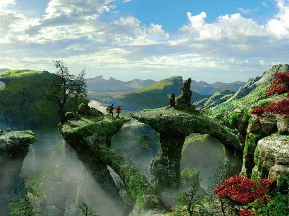 Oz Great and Powerful 570x427 The fantastic landscape of Oz, The Great and Powerful