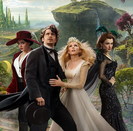 Oz the Great and Powerful Cast