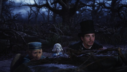 Oz the Great and Powerful Frank China Girl Oscar Diggs Oz the Great and Powerful Review