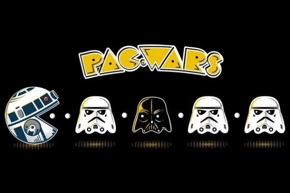 Pac Wars l 570x380 SR Geek Picks: Star Wars 7 & Man of Steel 2 Fan Trailers, Wolverine & More