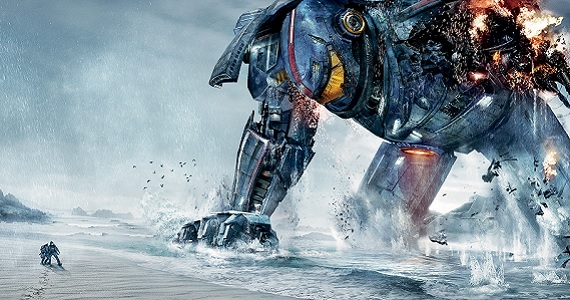 Pacific Rim Jaeger on the beach Pacific Rim 2 Mapped Out But Dependent on Pacific Rim Box Office Success