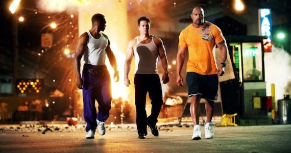 Pain and Gain Anthony Mackie Mark Wahlberg Dwayne Johnson Pain & Gain Review