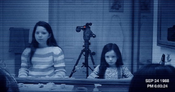 Paranormal Activity 2 mirror scene Two Paranormal Activity Movies Slated for 2014; Latino Spin off Titled Marked Ones