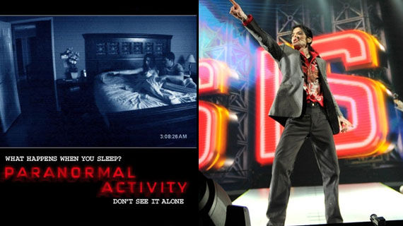 Paranormal Activity This Is It header Box Office Bankers: Paranormal Activity & This Is It