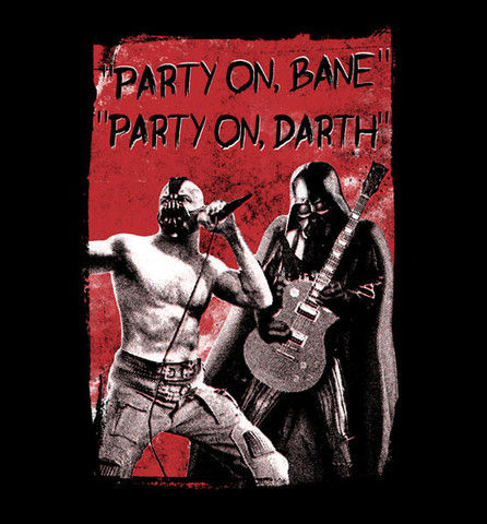 Party on Bane SR Geek Picks: Alternate Star Wars Episode VII Titles, Batsuit Music Video, & More!