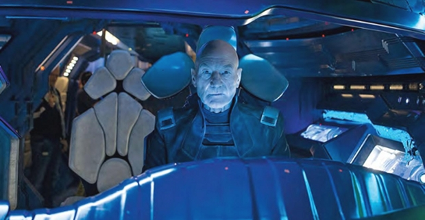 Patrick Stewart as Prof. X in X Men Days of Future Past X Men: Days of Future Past Continuity Problems & Errors