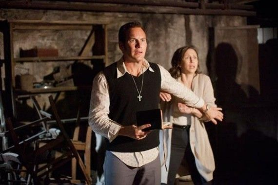 Patrick Wilson and Vera Farmiga in The Conjuring 570x380 Screen Rants 2013 Summer Movie Preview