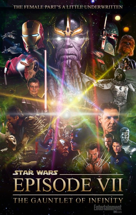 Patton Oswalt's Star Wars 7 570x902 SR Geek Picks: Game of Thrones One Liners, Star Wars vs. Star Trek & More