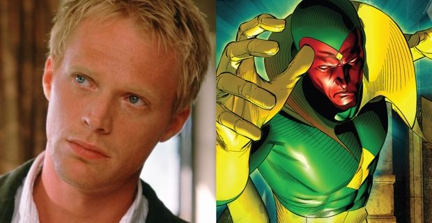 Paul Bettany Vision Avengers Age of Ultron Paul Bettany Is The Vision in Avengers: Age of Ultron