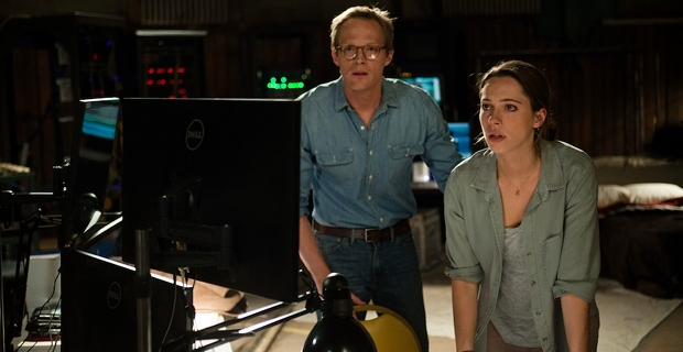 Paul Bettany and Rebecca Hall in Transcendence Transcendence Review