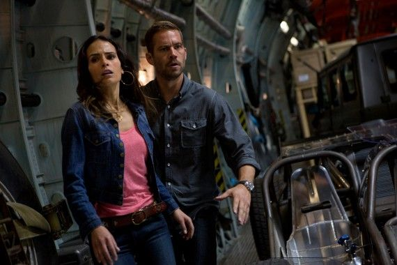 Paul Walker and Jordana Brewster in Fast Furious 6 570x380 Fast & Furious 7 Delayed But Still Happening After Death of Paul Walker