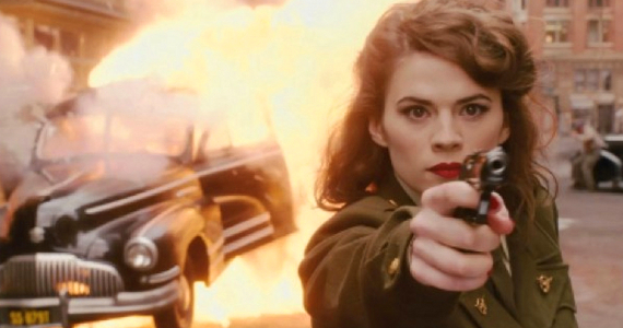 Peggy Carter Hayley Atwell Agent Carter TV Series Being Developed By Marvel?