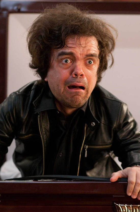 Peter Dinklage MODOK Captain America Peter Dinklage as MODOK in Captain America 2
