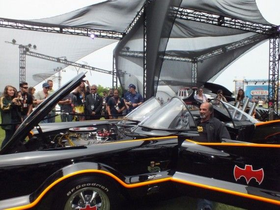 Photo Jul 12 3 03 38 PM 570x427 Batmobile   (Batman 1966)   Comic Con 2012