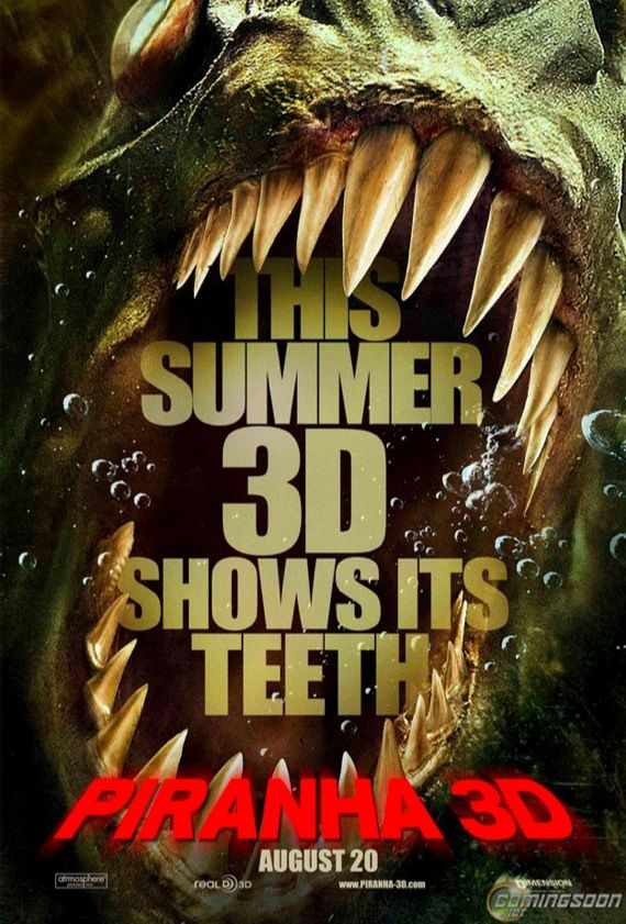 Piranha 3D Poster New Posters For Eclipse and Piranha 3D