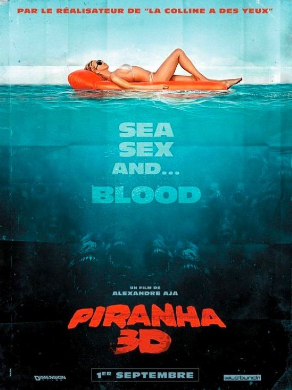 Piranha 3D New Movie Media: Conan, Let Me In, Megamind and More