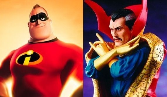 Pixar and Dr. Strange Movie Pixar Considering Animated Dr. Strange Movie?
