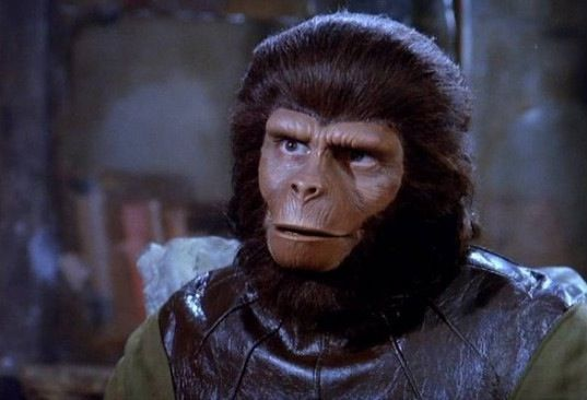 Planet of the Apes makeup First Look At CGI Ape In Rise of the Planet of the Apes