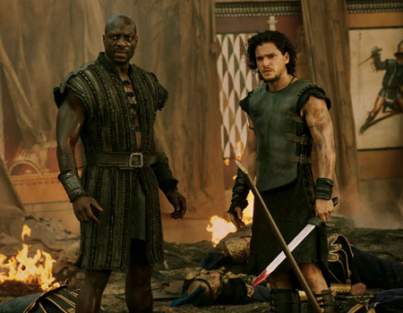 Pompeii Adewale Akinnuoye Agbaje Kit Harington The Riskiest Box Office Bets of 2014