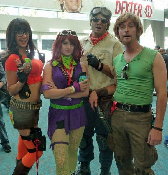 Post Apocalyptic Scooby Gang Cosplay 570x593 SR Geek Picks: Game of Thrones Autotune, Iron Dude, Bros Parody of Girls and More