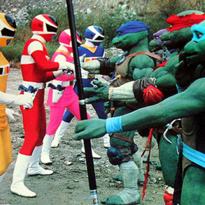 Power Rangers Teenage Mutant Ninja Turtles Crossover Episode