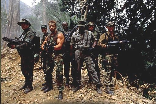 predator commandos dutch schwarzenegger expendables